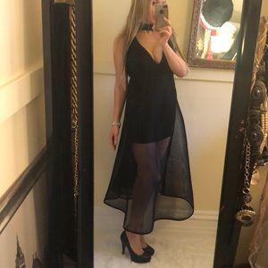 Sexy sheer dress S